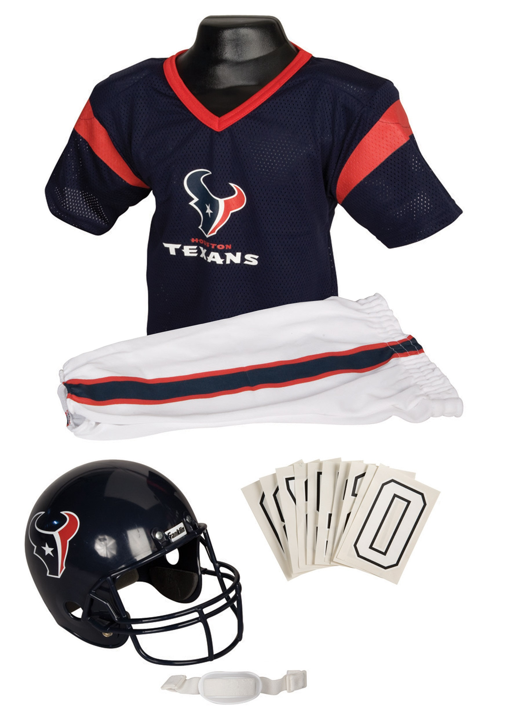 huge discount a2fe7 edb0e Kids NFL Texans Uniform Costume