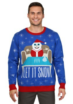 Men's Let it Snow Christmas Sweater