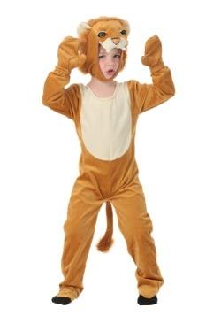 Toddler Plush Lion Costume