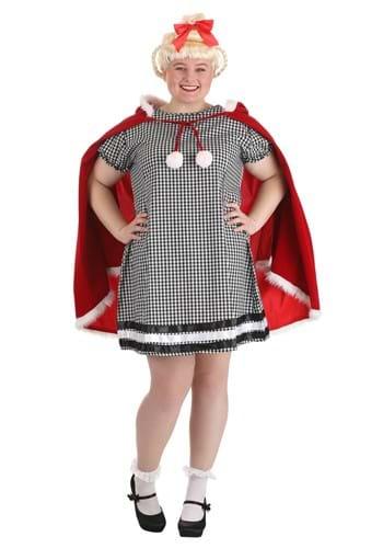 Plus Size Christmas Girl Costume 1
