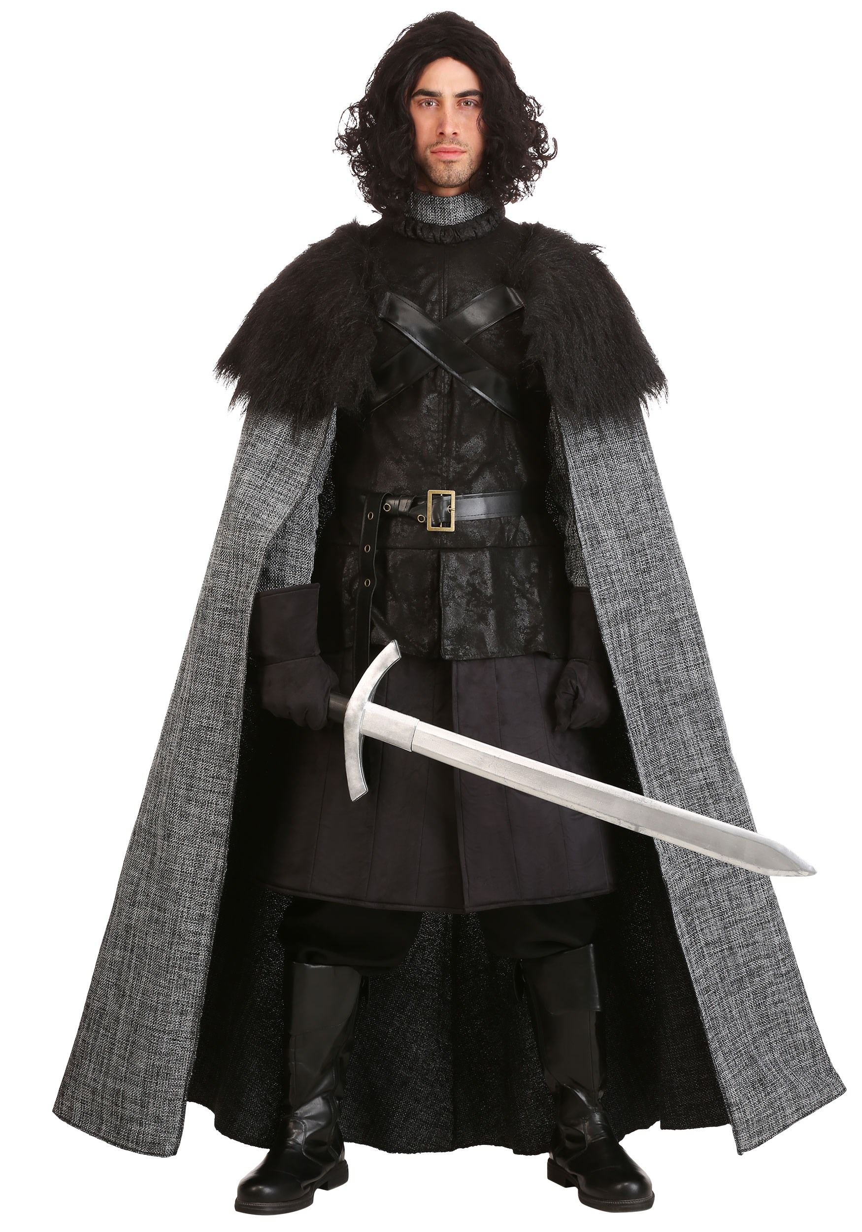 Dark Northern King Costume  sc 1 st  Halloween Costumes : black and white halloween costumes  - Germanpascual.Com