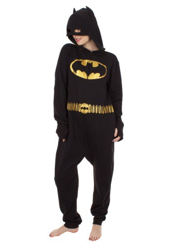 Adult Arkham Batman Brushed Pajamas