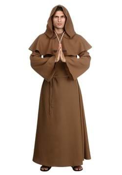 Plus Size Brown Monk Robe-1