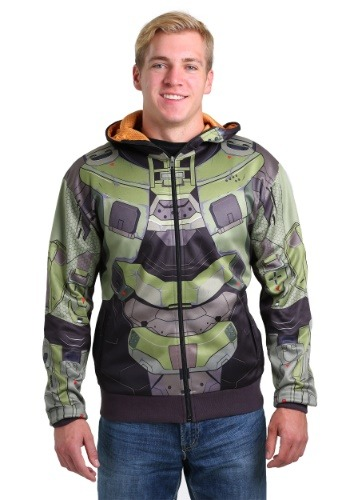 Image of Adult Halo Master Chief Costume Hoodie
