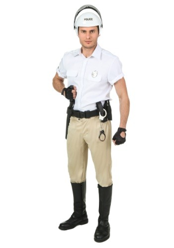 Click Here to buy Plus Size Village People Police Costume from HalloweenCostumes, USA Funds & Shipping