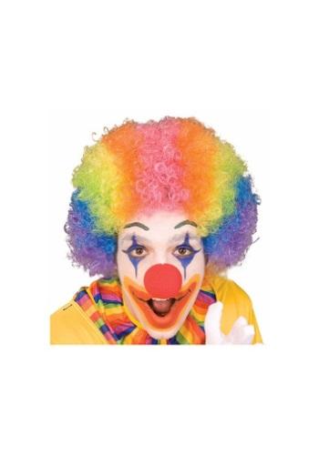 Adult Rainbow Clown Wig