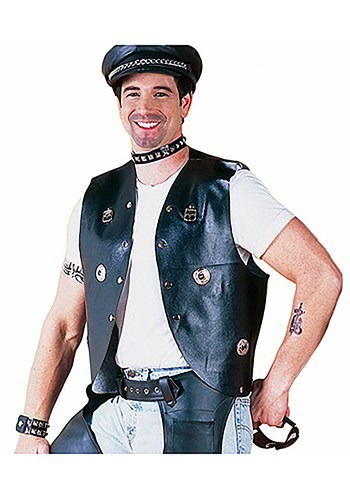 Biker Vest By: Forum Novelties, Inc for the 2015 Costume season.