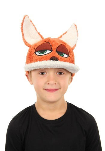 Disney Zootopia Nick Wilde Child Fuzzy Baseball Cap