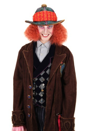Click Here to buy Alice in Wonderland Mad Hatter Safari Hat from HalloweenCostumes, USA Funds & Shipping