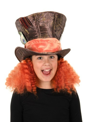 Click Here to buy Alice in Wonderland Kids Mad Hatter Hat from HalloweenCostumes, USA Funds & Shipping