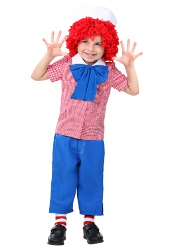 Click Here to buy Toddler Raggedy Andy Costume from HalloweenCostumes, USA Funds & Shipping