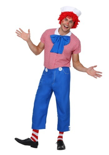 Click Here to buy Mens Rag Doll Costume from HalloweenCostumes, CDN Funds