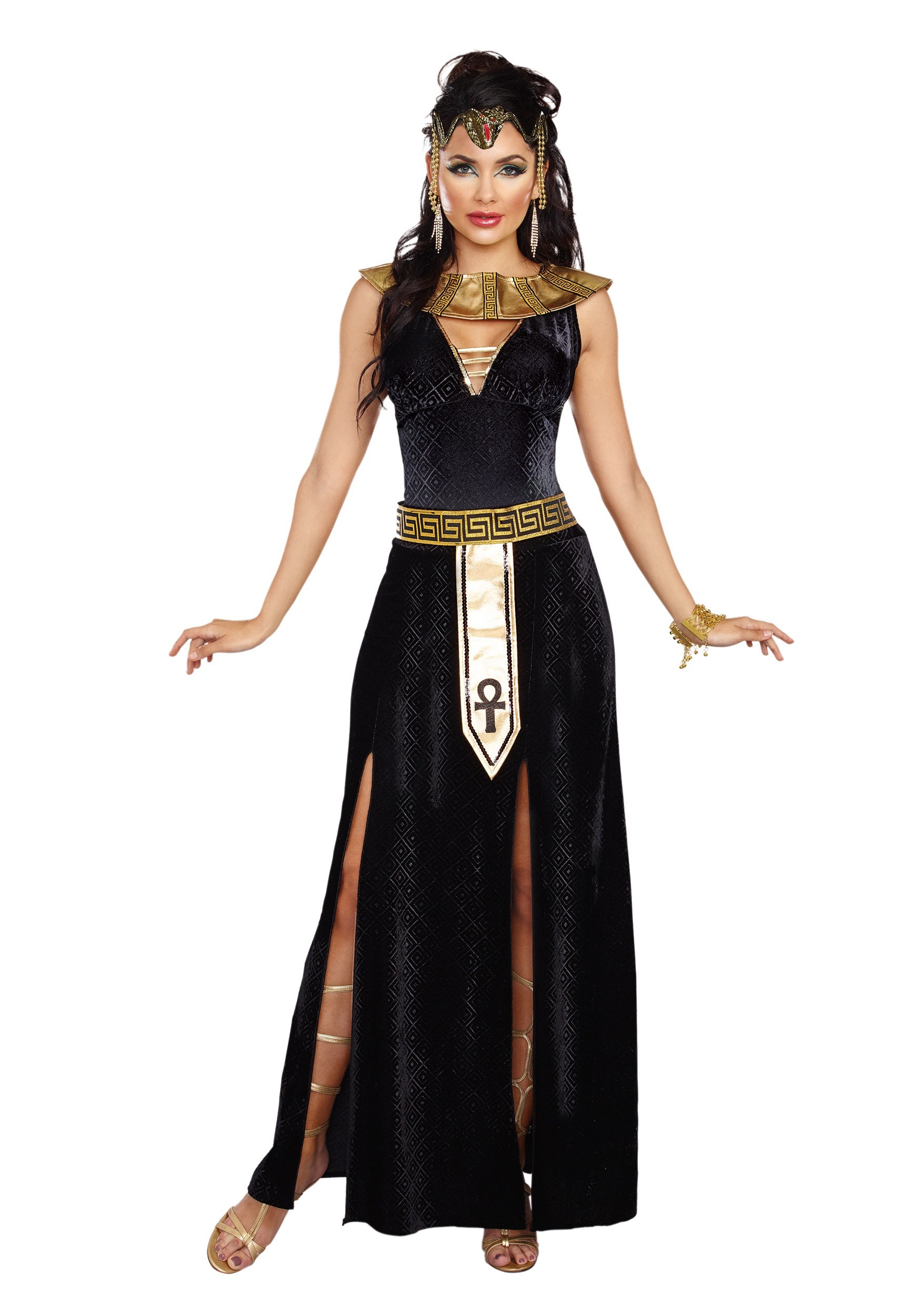 Exquisite Cleopatra Costume  sc 1 st  Halloween Costumes & Exquisite Cleopatra Womenu0027s Costume
