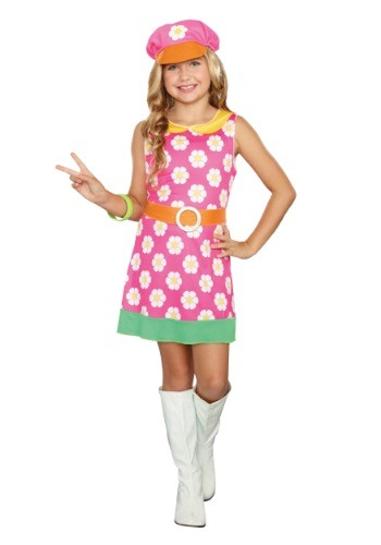 Click Here to buy Girly-A-Go-Go Girls Costume from HalloweenCostumes, CDN Funds
