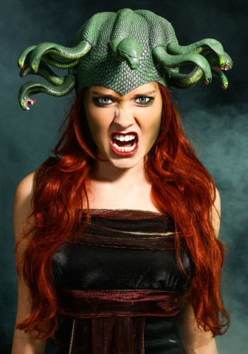 Medusa Headpiece By: Forum Novelties, Inc for the 2015 Costume season.