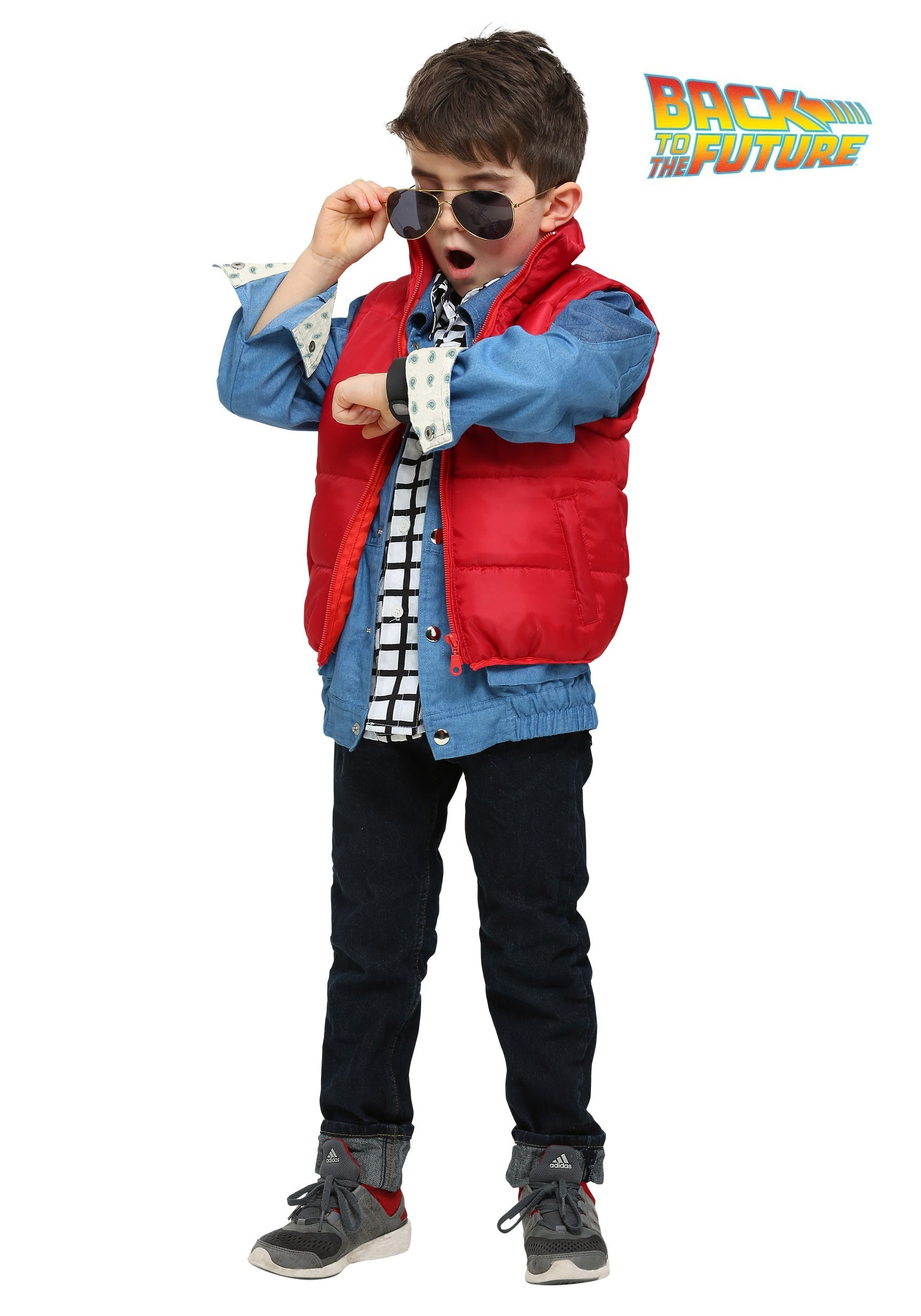 Back to the Future Marty McFly Toddler Costume  sc 1 st  Halloween Costumes & Toddler Halloween Costumes - HalloweenCostumes.com