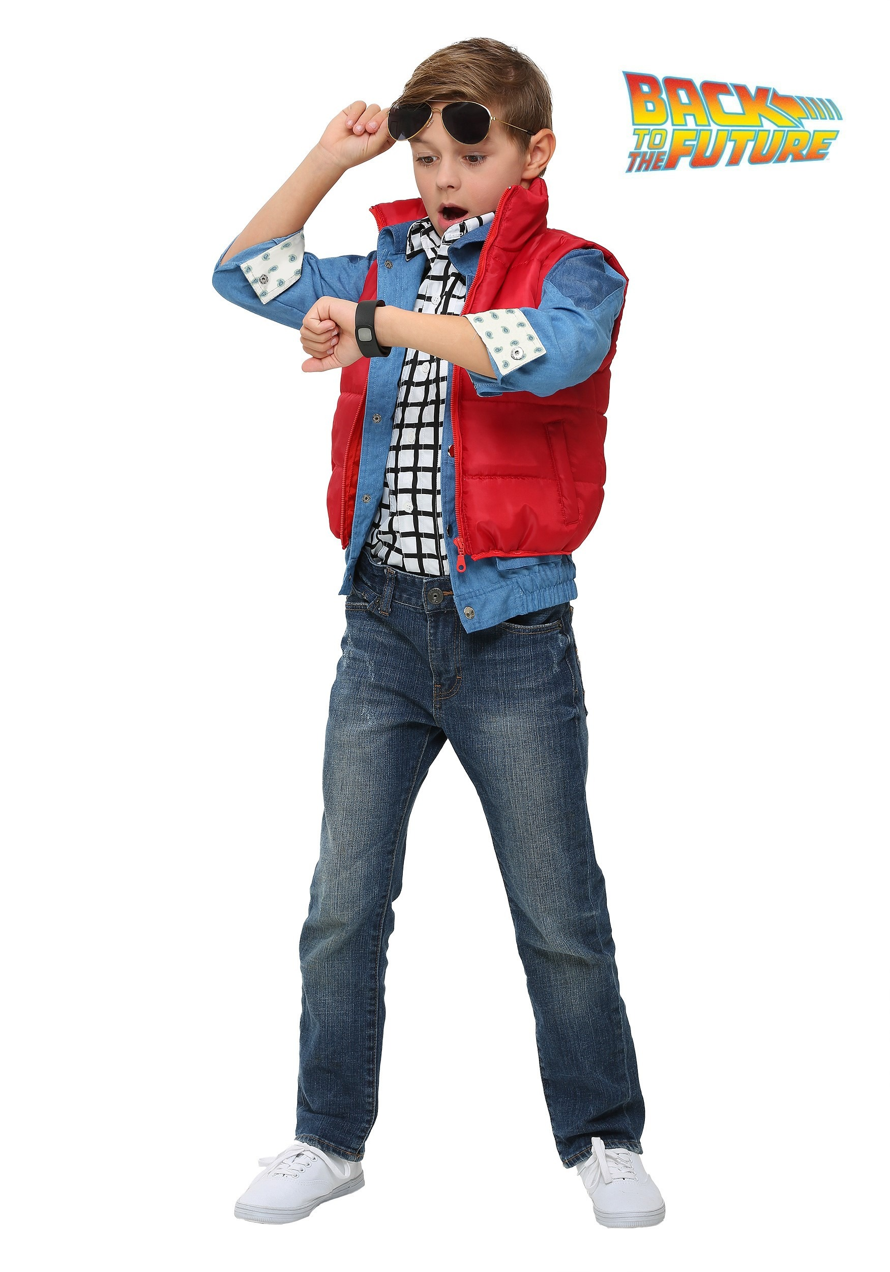 Back to the Future Child Marty McFly Costume  sc 1 st  Halloween Costumes : boy rockstar costume ideas  - Germanpascual.Com