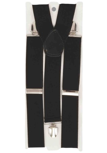 Black Costume Suspenders
