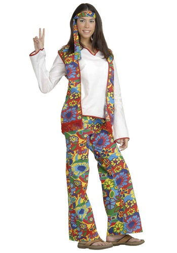 Click Here to buy Hippie Chick Costume from HalloweenCostumes, CDN Funds