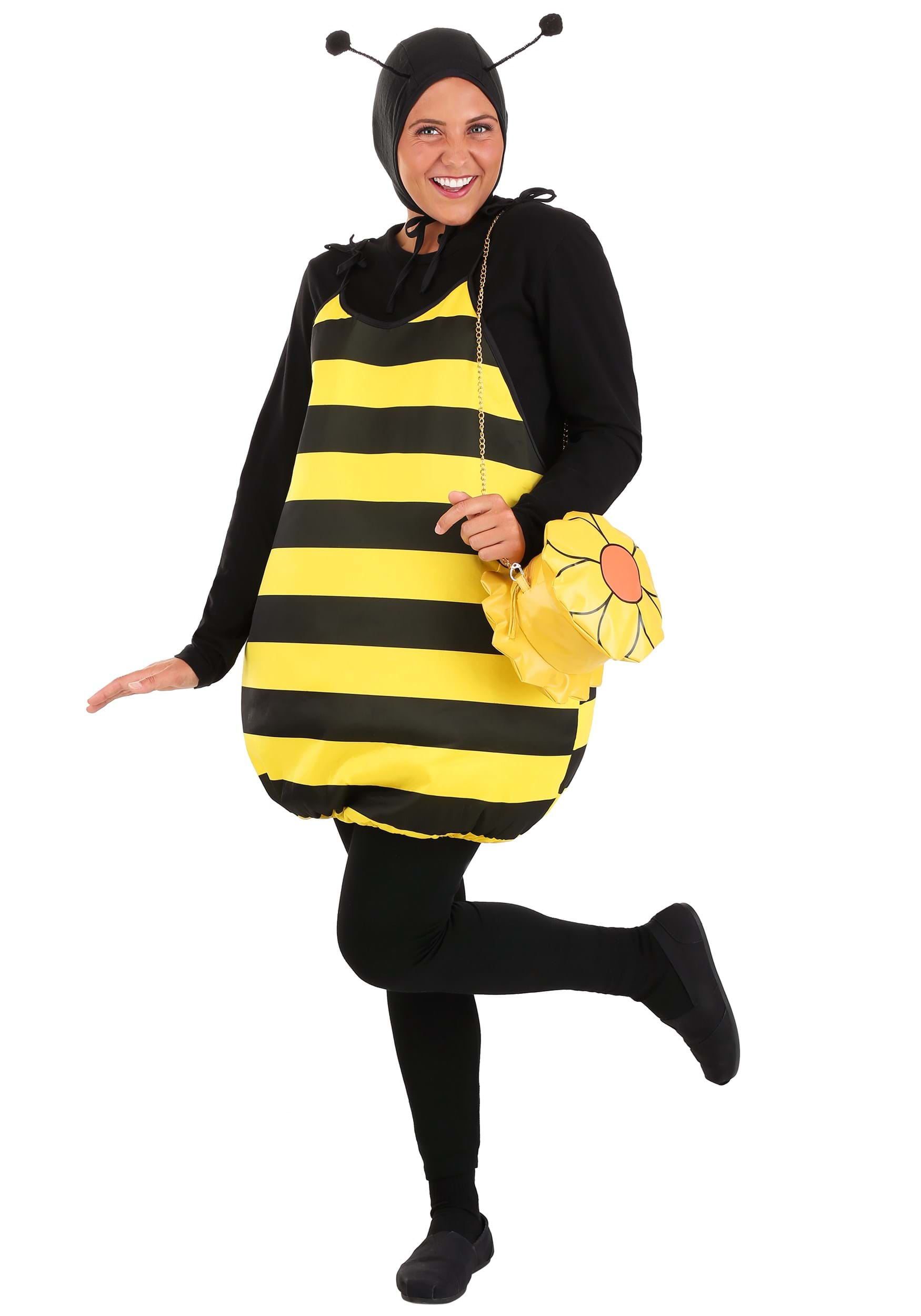 sc 1 st  Halloween Costumes & Adult Bumble Bee Costume
