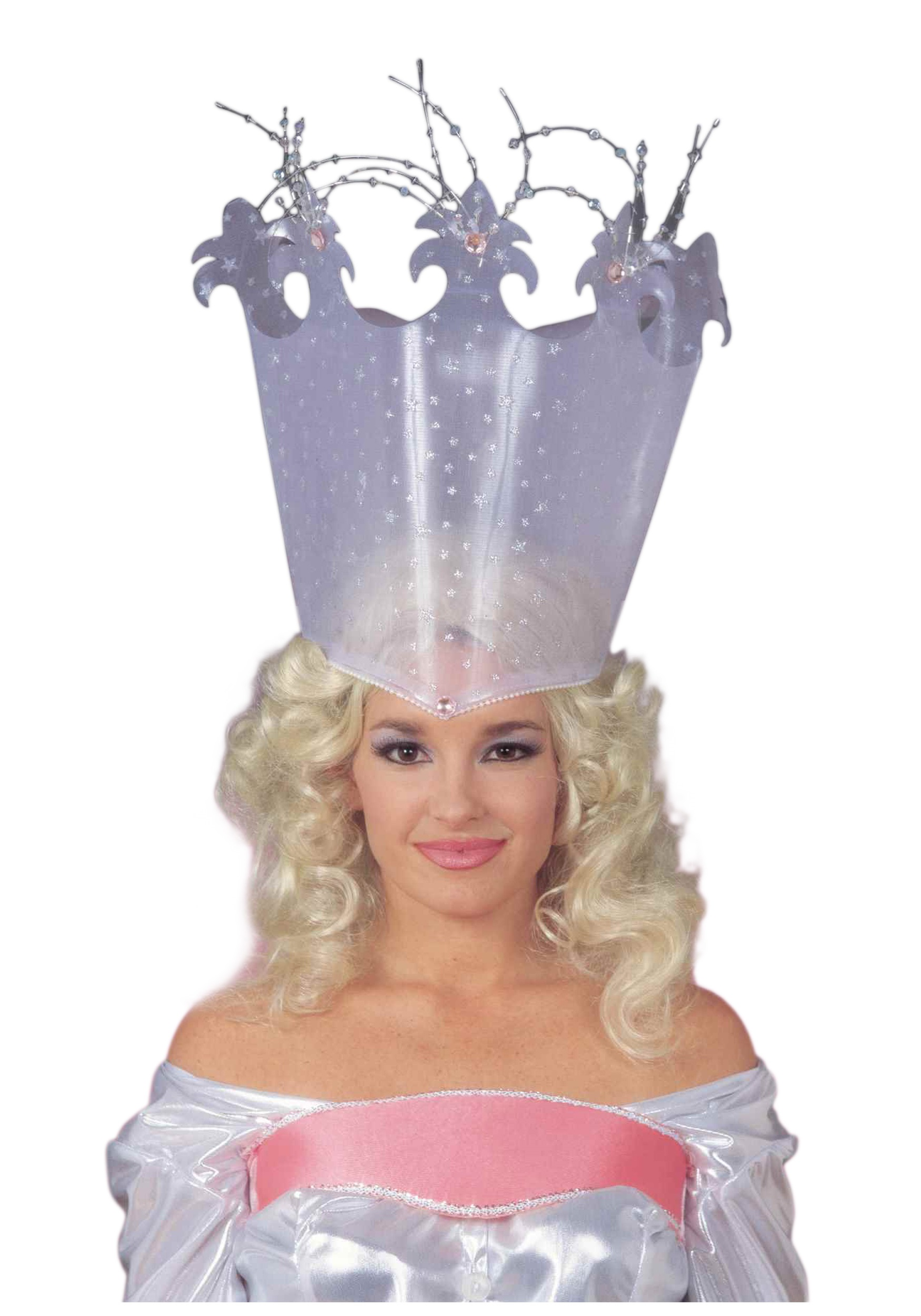 Adult sparkle witch crown adult deluxe glinda crown maxwellsz