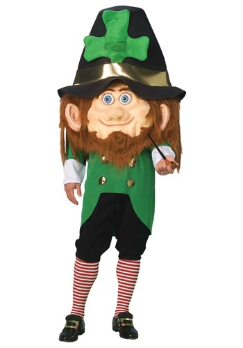 Click Here to buy Oversized Parade Leprechaun Costume from HalloweenCostumes, CDN Funds