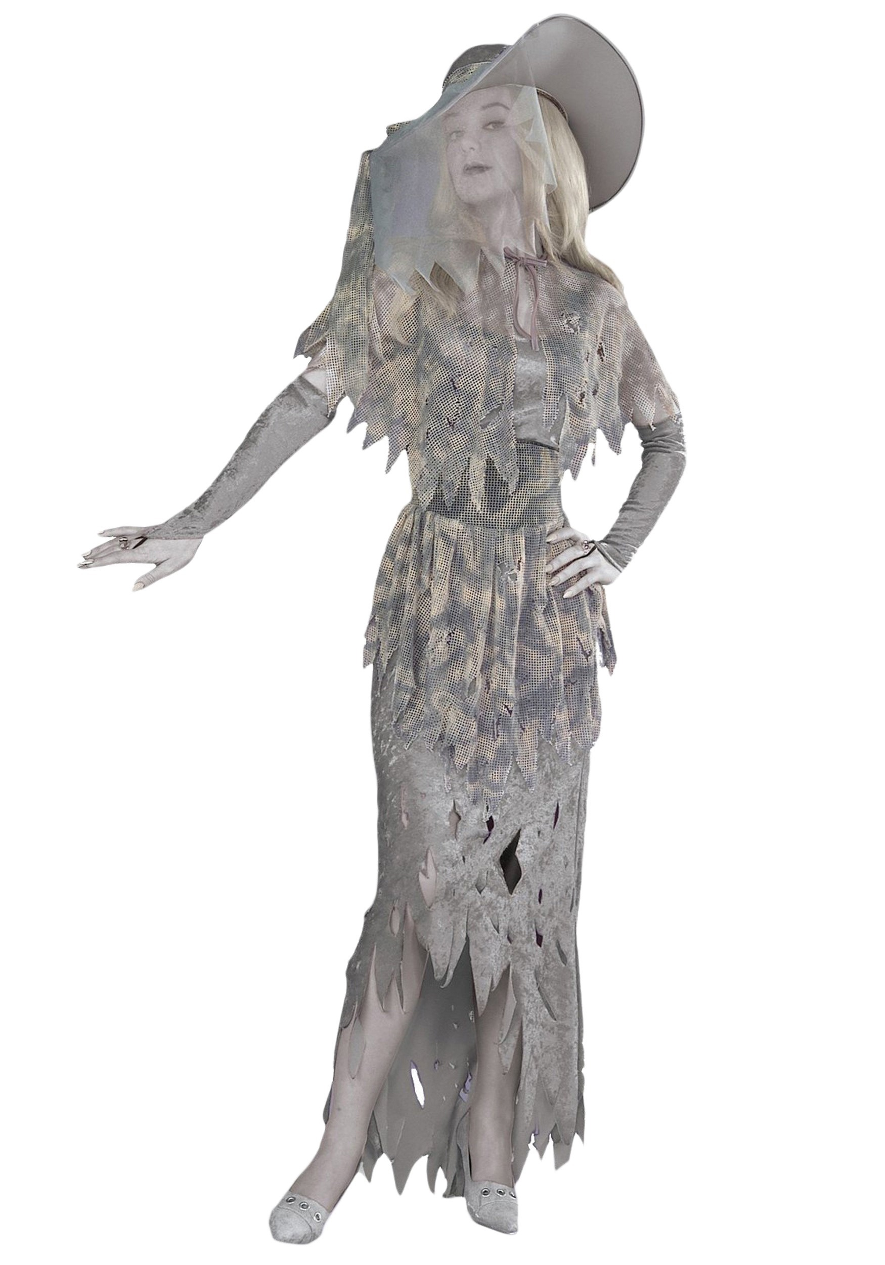 Womens Ghost Costume