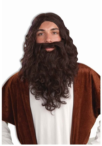 Biblical Wig and Beard Set for Men