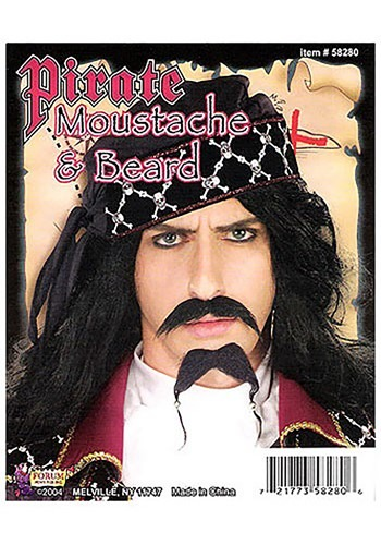 Pirate Black Beard & Mustache By: Forum Novelties, Inc for the 2015 Costume season.