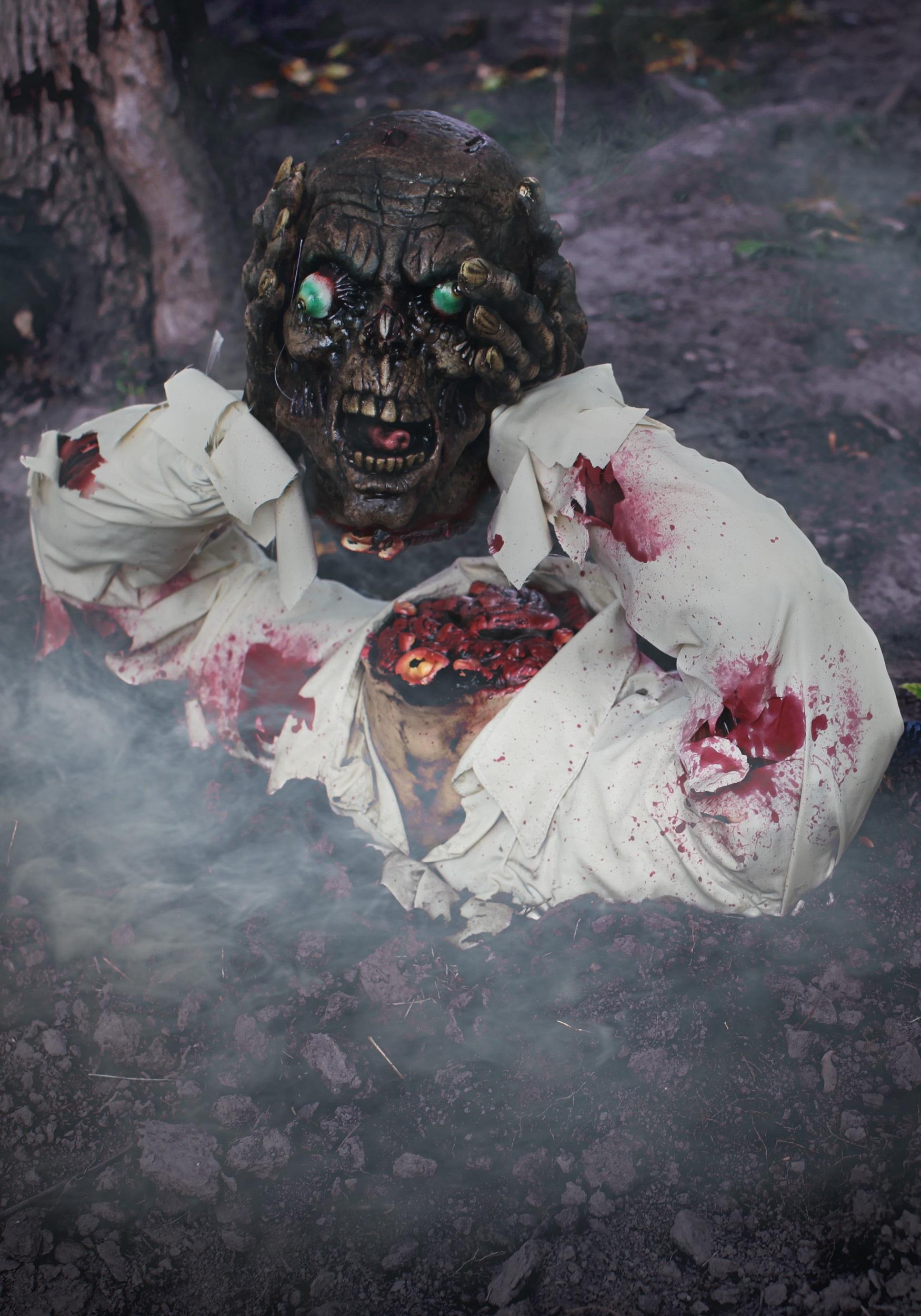 Amazing Halloween Decorations Zombie Part - 13: Headless Zombie