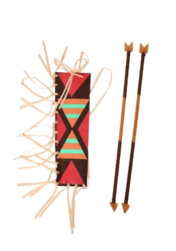 Indian Quiver and Arrow Set