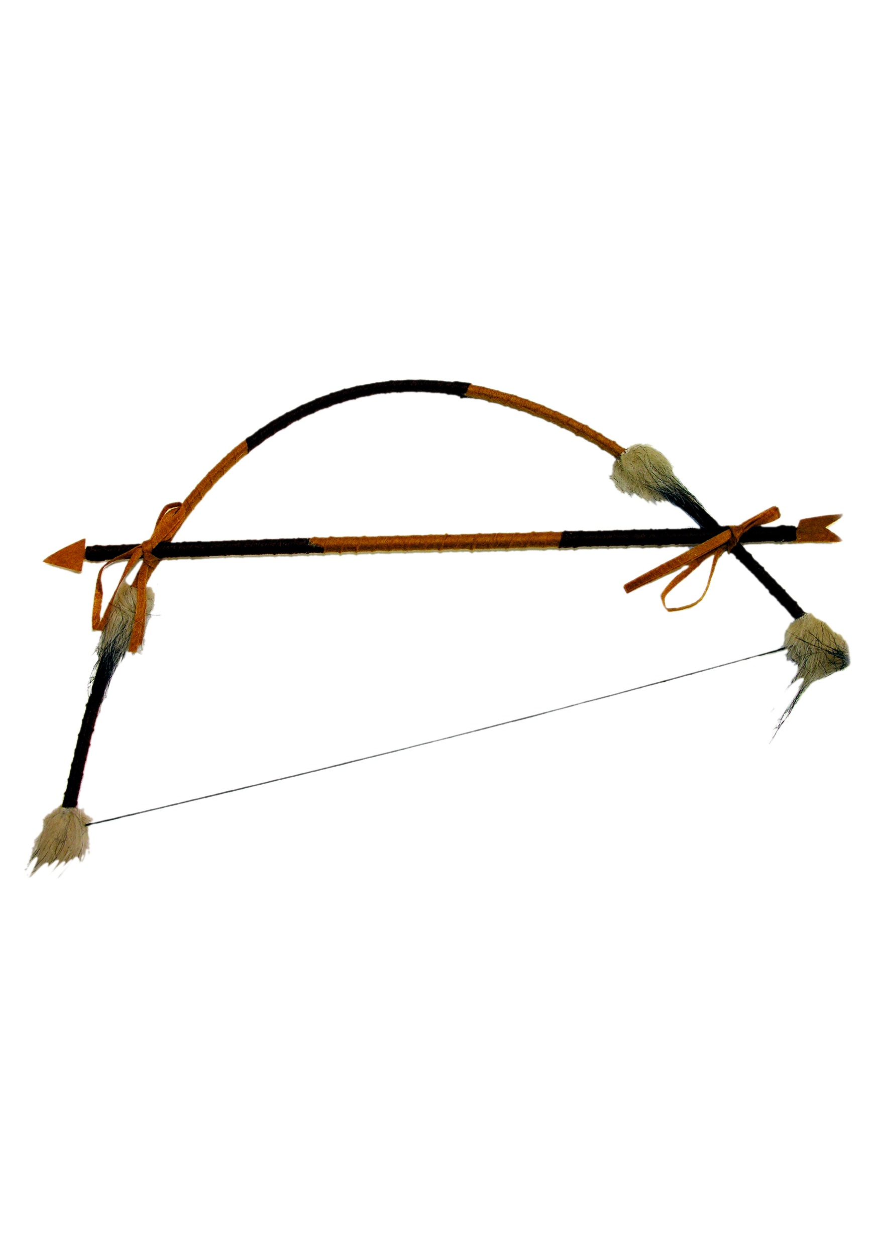 Feathered Indian Bow and Arrow Set FO59041