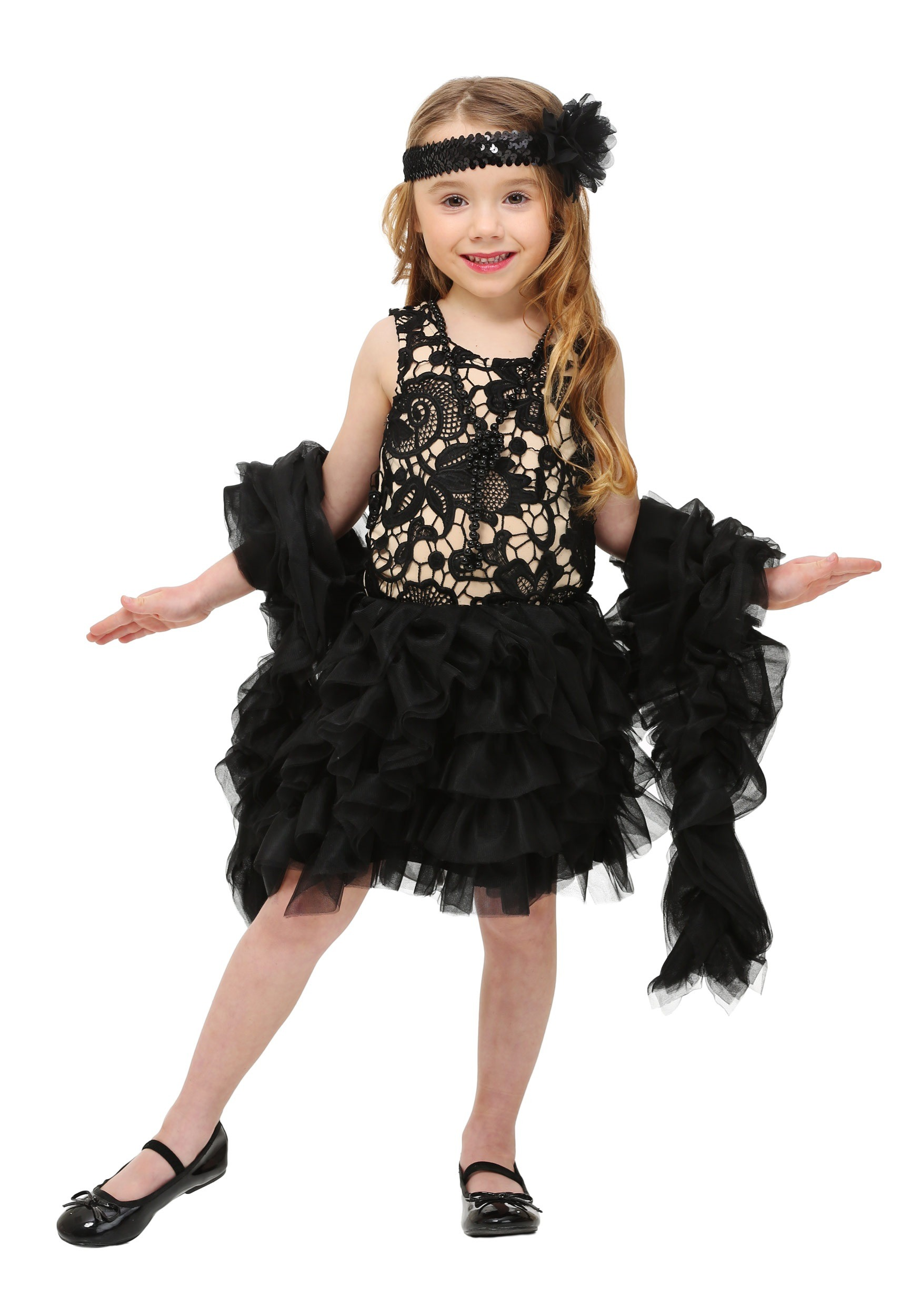 Baby Black Dress Up Shoes