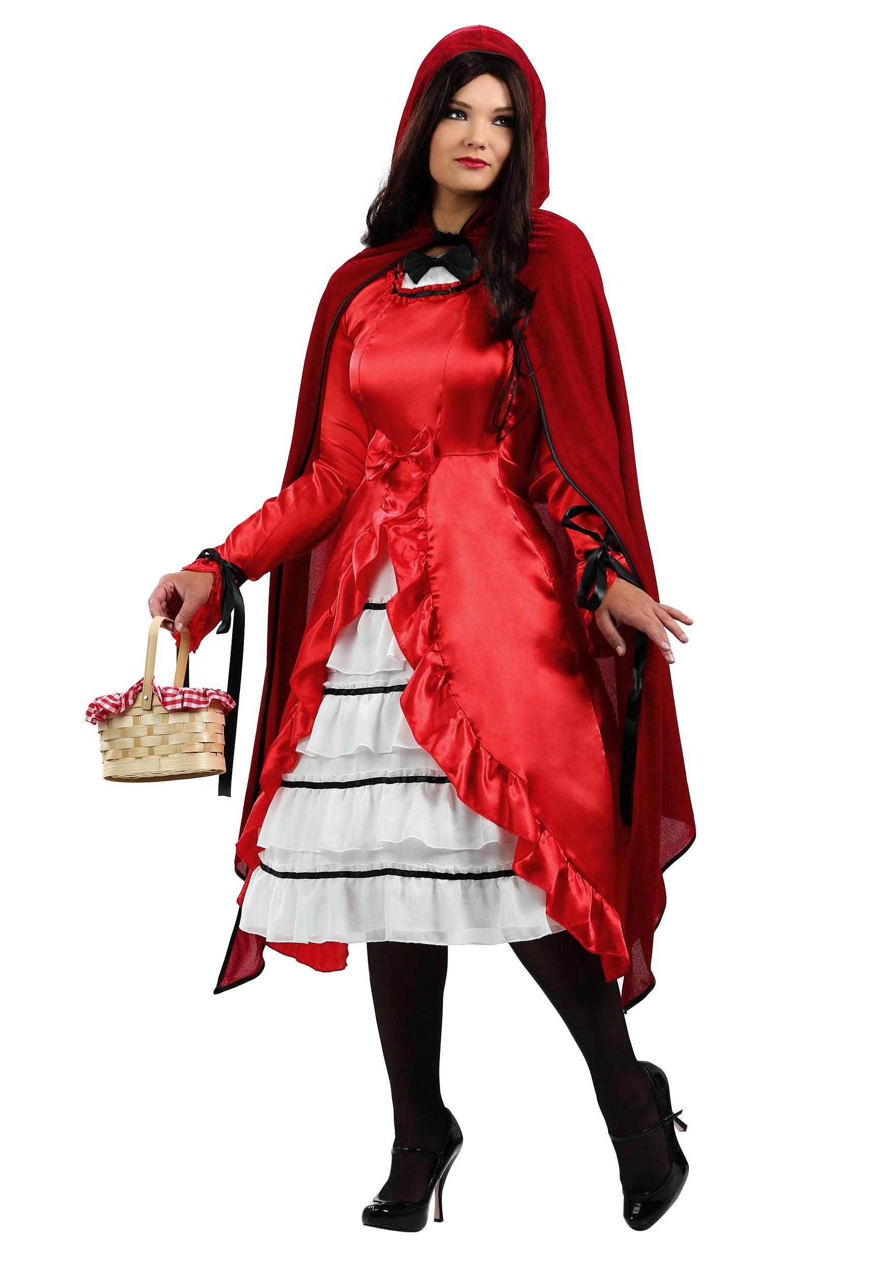 Plus Size Fairytale Red Riding Hood Costume  sc 1 st  Halloween Costumes & Plus Size Fairytale Red Riding Hood Costume 1X 2X 3X 4X 5X