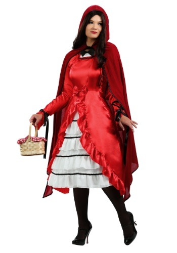 Plus Size Fairytale Red Riding Hood Costume