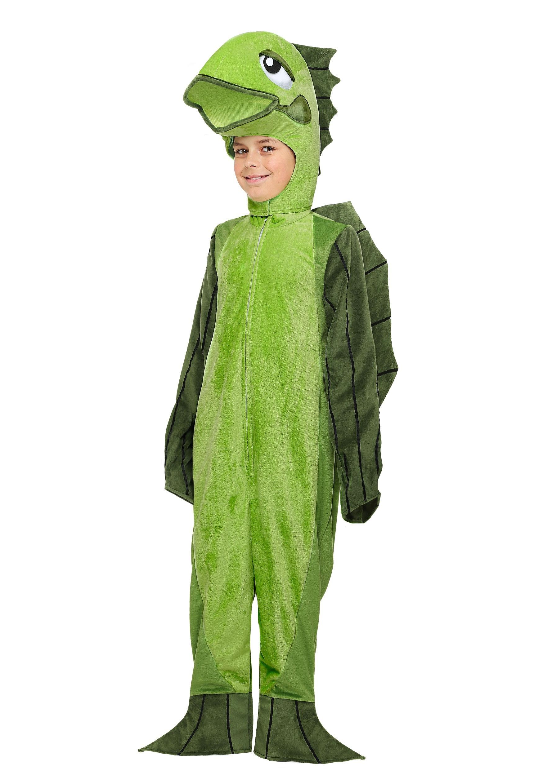 Child fish costume for Fish costume men