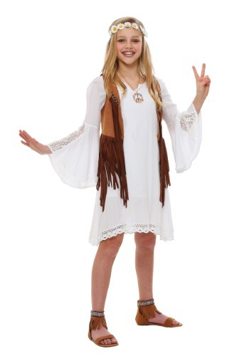 Click Here to buy Girls Flower Kids Costume from HalloweenCostumes, USA Funds & Shipping