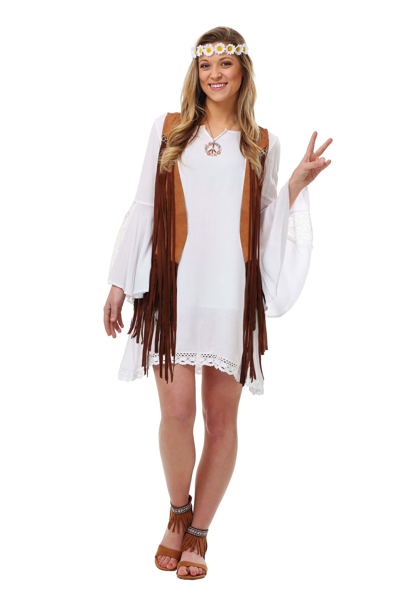 sexy costumes hippie retro costumes groovy flower child hippy costume