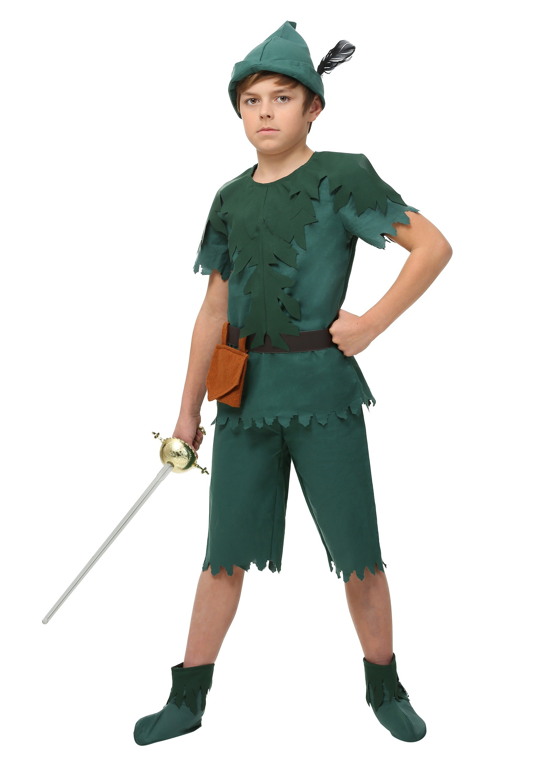 child peter pan costume. Black Bedroom Furniture Sets. Home Design Ideas