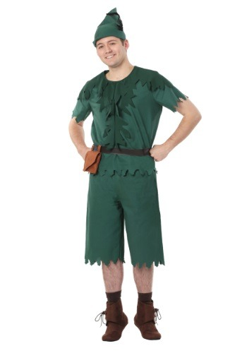 Click Here to buy Plus Size Adult Peter Pan Costume from HalloweenCostumes, USA Funds & Shipping