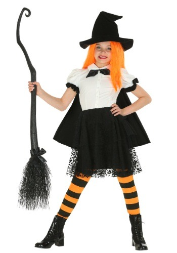 Girl's Punky Witch Costume