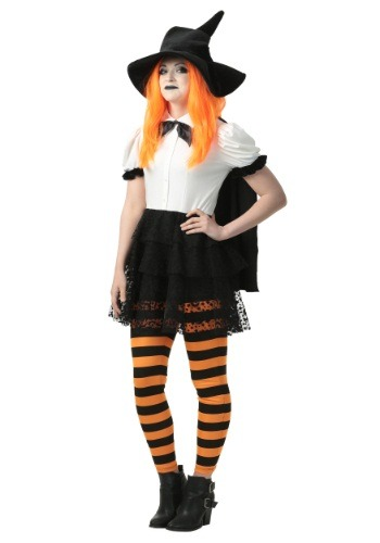 Womens Punky Witch Costume