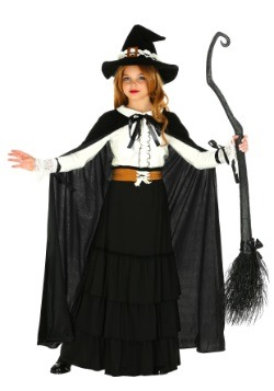 Girls Salem Witch Costume