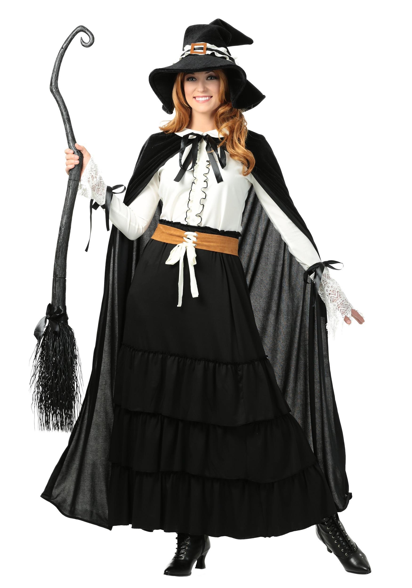 womens salem witch plus size costume
