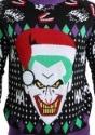 The Joker Santa Sweater Logo