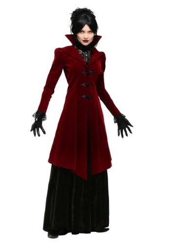 Click Here to buy Womens Plus Size Delightfully Dreadful Vampiress Costume from HalloweenCostumes, CDN Funds