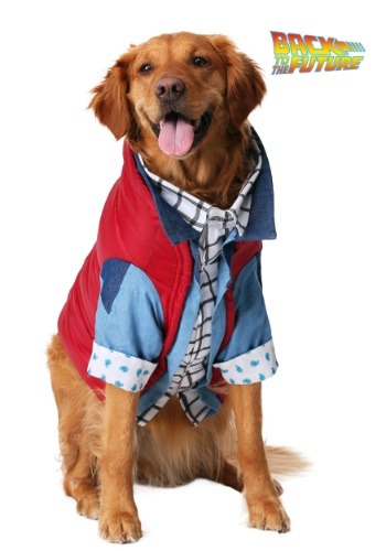 Marty McFly Dog Costume