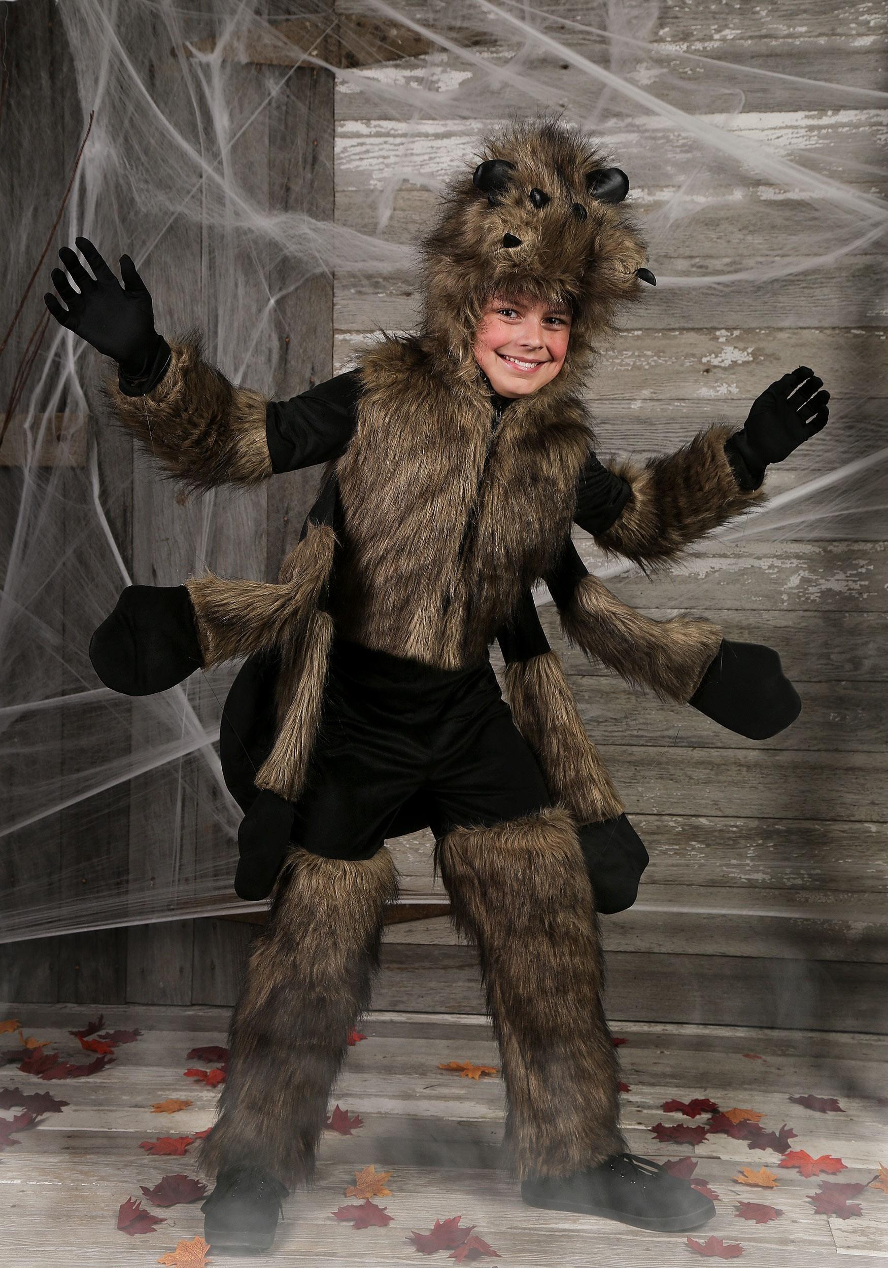 Kid Spider Costume Diy