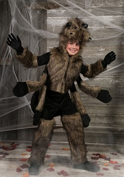 Kids Furry Spider Costume