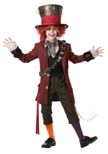 child authentic mad hatter costume. Black Bedroom Furniture Sets. Home Design Ideas